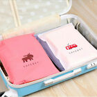 Travel Packing Cube Pouch Suitcase Clothes Storage Bags Luggage Organizer 6t