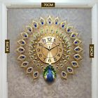 Peacock Wall Clock Living Room Individual Creativity Fashion Household Watch New