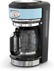 Russell Hobbs CM3100BLR Retro Style 8-Cup Coffeemaker, Heavenly Blue