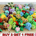 Plants vs Zombies Game Figures Plush Baby Staff Toys Soft Dolls Gifts for Kid UK