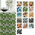 Uk Mosaic Stick On Self Adhesive Wall Tile Sticker Kitchen Bath Home Decor