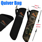 Archery Arrow Quiver Bag Side Quiver Pouch Holder Shootng Hunting Accessories US