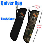 Archery Crossbow Arrow Quiver Bag Side Quiver Pouch Holder Outdoor Hunting Sport