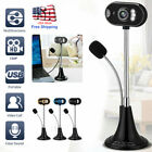 NEW HD Web Cam Camera Webcam with Microphone USB For Desktop Computer PC Laptop