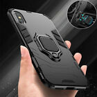 Case For iPhone 11 12 SE XR XS 8 7 Shockproof Rugged 360 Ring Stand Armor Cover