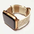 Leather Band fits Apple Watch Series 5, 4, 3, 2, and 1  image