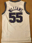 Jason Williams #55 Sacramento Kings Men's Sewn Throwback Swingman WHITE Jersey on eBay