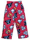 Angry Birds Star Wars Boys Red Fleece Pajama PJ Sleepwear Pants $17.99 USD on eBay