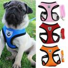 MESH PADDED SOFT PUPPY PET DOG HARNESS BREATHABLE COMFORTABLE 4 COLORS 3 SIZES