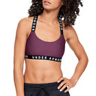 Under Armour Sports Bra Support Yoga Fitness Padded Racerback Top  Womens