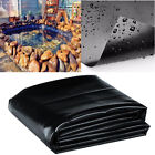 Durable Fish Pond Liner Gardens Pool HDPE Membrane Reinforced Landscaping 8-32ft