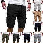 Kyпить Mens Cargo Shorts Pants Summer Jogger Sport Army Combat Trousers Capri Sweatpant на еВаy.соm