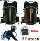 Coolchange Mtb Bike Cycling Folding Backpack Outdoor Camping Water Bladder Bag