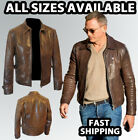 James Bond Leather Jacket In Skyfall | Levi Leather Jacket Skyfall |Daniel Craig $136.37 CAD on eBay