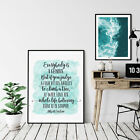Everybody Is A Genius,Albert Einstein Quote,Room Decor Wall Art Print Quotes