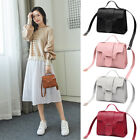 Mini Crossbody Bag Shoulder Bag Wallet Handbag Small Square Pack Pu Leather