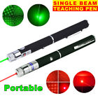1-2PC 900Miles 650/532nm Red &Green Laser Pointer Pen 2in1 Star Beam Pet Cat Toy