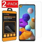 2-Pack Tempered Glass Film Screen Protector for Samsung Galaxy A01 A11 A21 A31