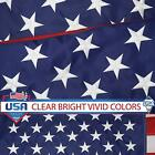 American Flag 2x3 3x5 4x6 Ft Nylon Embroidered Stars Sewn Stripes Brass Grommets