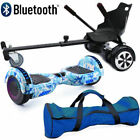 "Bluetooth 6.5"" Swegway Hover Scooter Bundle Combo Self Balance Board & Hoverkart"