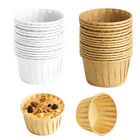 50Pcs Baking Cupcake Liners Wrappers Greaseproof Paper Muffin Dessert Holder