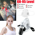 Silicone Face Mask Anti-droplets Respirator Reusable Face Mouth Cover Filters