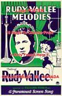 """RUDY VALLEE MELODIES 1932 Cartoon BETTY BOOP = POSTER 10 Sizes 18"""" - 4 1/2 FEET $62.88 CAD on eBay"""