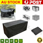 Au Waterproof Garden Furniture Table Cover Outdoor Patio Rain Snow Chair Shelter