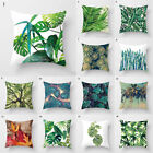 Pillow Case Africa Tropical Plant Print Cushion Cover Linen Throw Car Sofa Decor