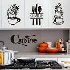 Kitchen Wall Stickers Diy Coffee House Cup Decals Wall Art Home Decor