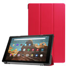 For Amazon Kindle Fire HD 10 8 7 9th 8th Gen Flip Leather Smart Stand Case Cover