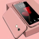 360° Full Cover Hybrid Case + Tempered Glass For Xiaomi Pocophone F1 A2 Lite
