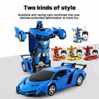 Toys for Kids Boys Transformer RC Robot Car Remote Control 2 IN 1 Christmas Gift