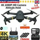 Drone X Pro 2.4G WIFI FPV HD Camera 3 Batteries Foldable Selfie RC Quadcopter