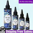 Hard Uv Resin Glue 25/50/100/200g Ultraviolet Curing Epoxy Craft Diy Jewelry Au