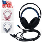 3.5mm Headphones LED Gaming Headset Mic Stereo Bass Surround For PC Xbox One PS4