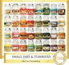 Yankee Candle - SMALL JARS & TUMBLERS - 3.7oz & 7oz - Many Discontinued Scents!