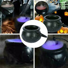 Halloween Cauldron Mister Mist Smoke Fog Machine Color Changing Party Props Use