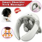 Smart Electric Neck  Shoulder Massager Pain Relief Health Care Relax w/ Remote