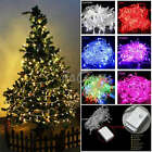 32FT 100LED Outdoor Christmas Tree Lights Indoor Showcase Lamp With Tail Plug US