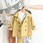 Baby Boys Spring/Fall Wind Hooded Coat Casual Fashion Kids Jacket Long Outerwear
