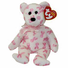 TY Beanie Baby - GIVING the Bear (Breast Cancer Awareness Bear) (8 inch) - MWMTs