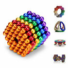 5mm Magnets Magic Balls Beads 3D Puzzle Ball Sphere Magnetic Toys-6 COLORS US