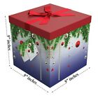 Large Gift Boxes with Lids - Christmas Gift Boxes - Silent Night - EndlessArtUS