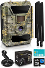 Lte 4G Cellular Trail Cameras – Outdoor Wifi Full Hd Wild Game Camera With Nig