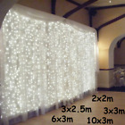 3x1/3x3/6x3m LED Icicle String Lights Christmas Fairy Lights garland Outdoor Hom