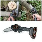 4 inch The Mini Electric Chainsaw Ever Battery-Powered Wood Cutter Portable Use