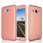 For Samsung Galaxy J3 J5 J7 2015 2016 2017 Case Cover + Glass Screen Protector
