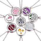 Aromatherapy Essential Oil Diffuser Necklace 316l Stainless Steel Locket Pendant
