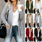 Hollow Long Sleeve Sweater Jumper Students Tops Womens Top overcoat Knitted